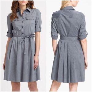 Tory Burch Blythe Blue & White Dress Sz 0